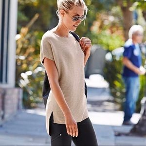 Athleta Shirt Sleeve Aster Tunic Sweater